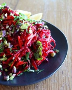 Energetic mama beetroot salad