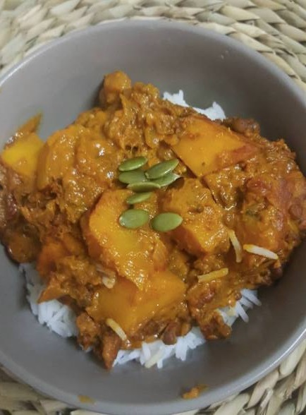 Pumpkin and lentil curry Jen Shaw