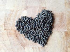 lentil heart
