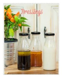 dressings from TAK
